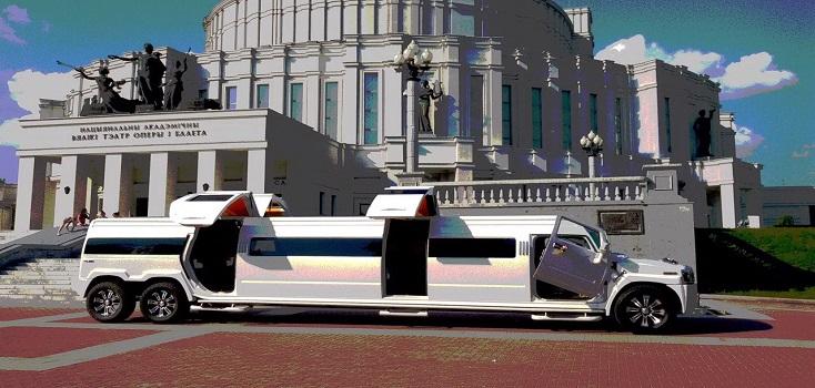 Limousine mieten Hummer H2 Phantom Tandem